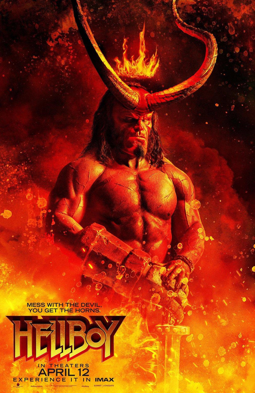 Hellboy: il nuovo poster del film