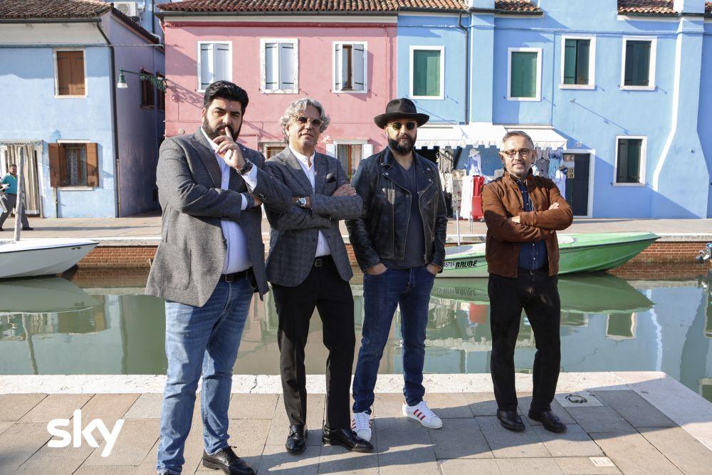 Masterchef Italia 8: i giudici dello show