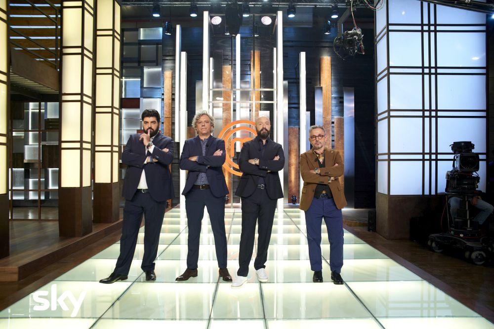 Masterchef Italia 8: i quattro giudici del programma