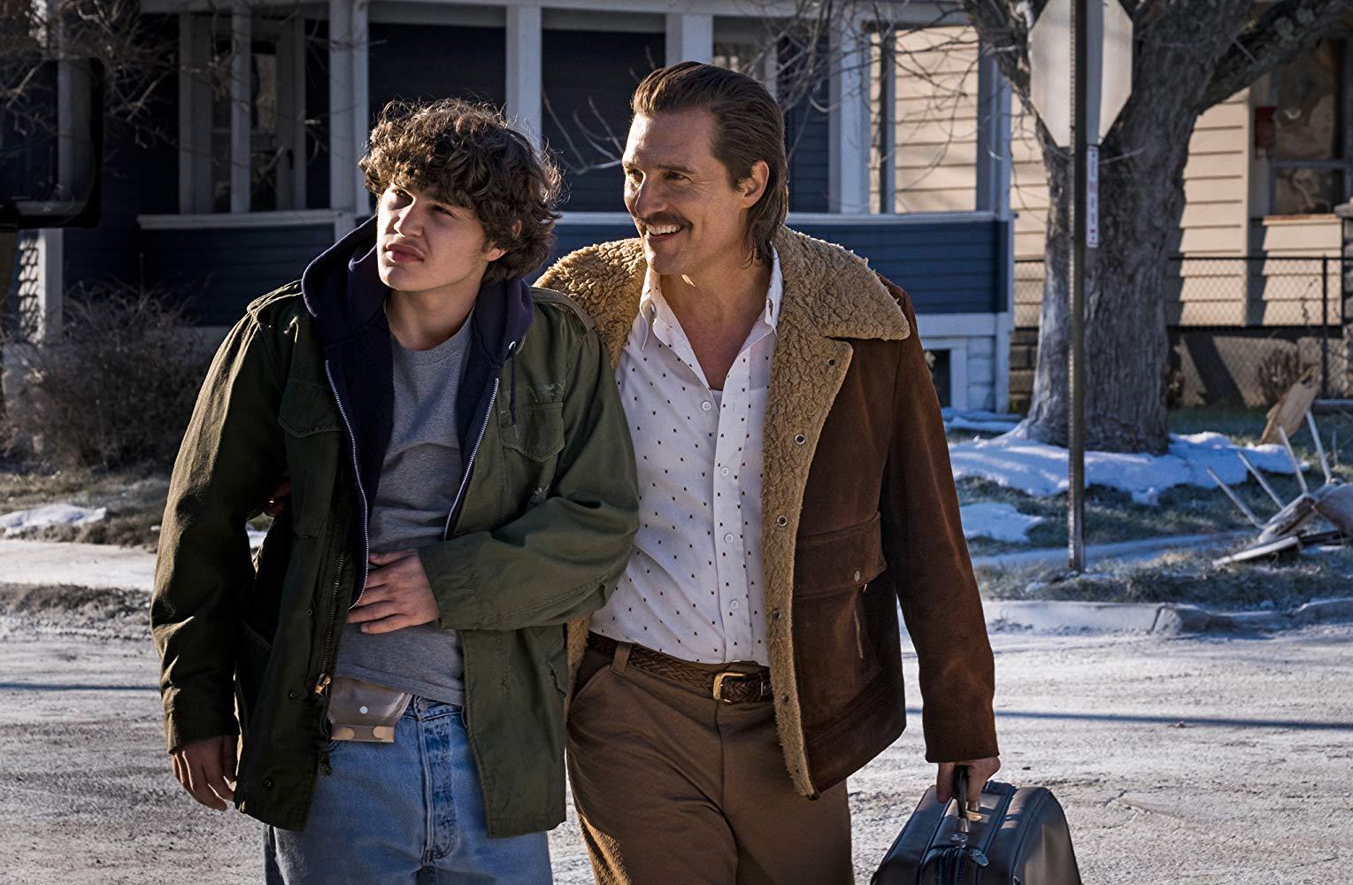 Cocaine - La Vera Storia Di White Boy Rick: una scena con Matthew McConaughey e Richie Merritt