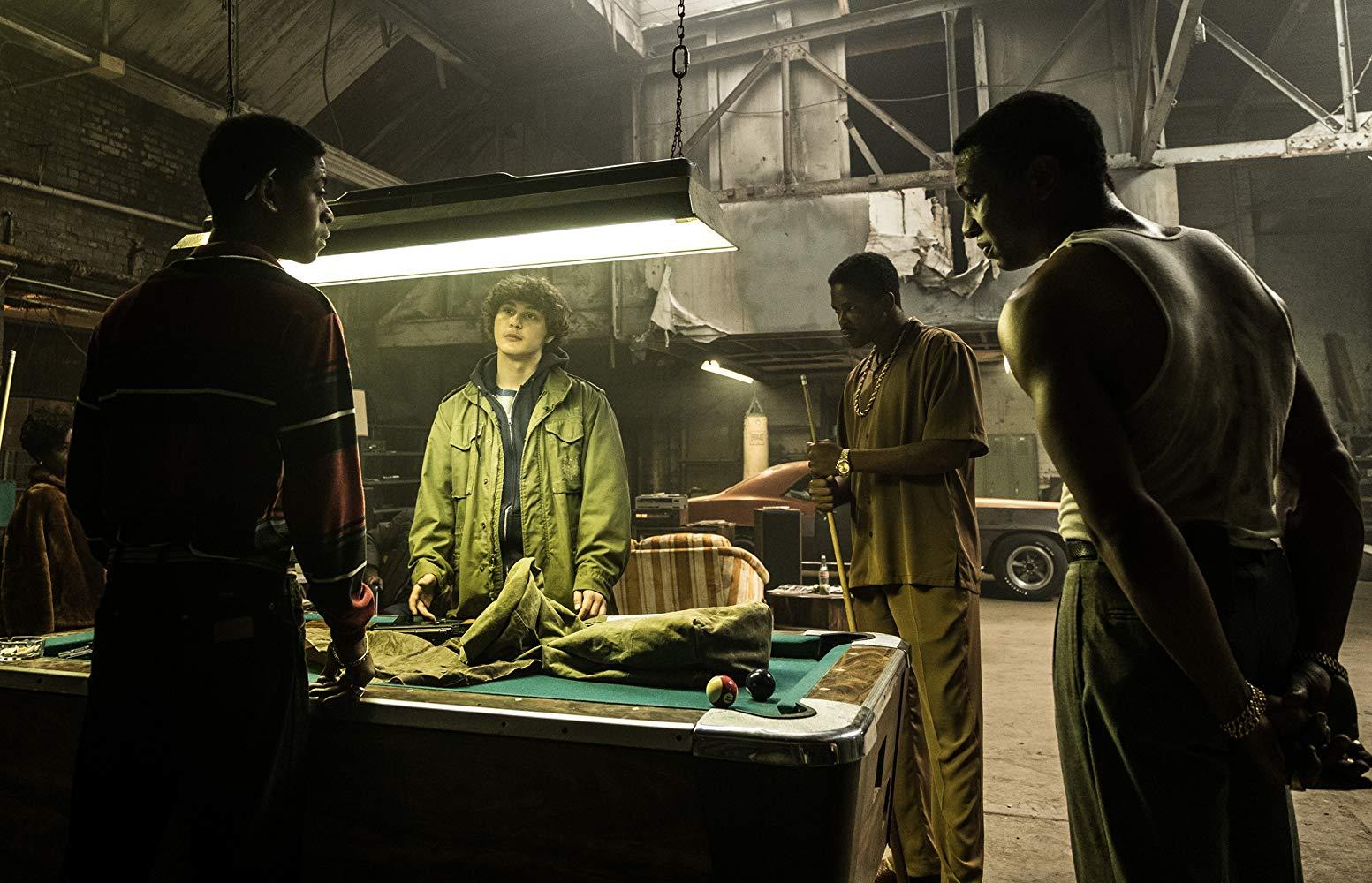 Cocaine - La Vera Storia Di White Boy Rick: Jonathan Majors, RJ Cyler, Richie Merritt in una scena