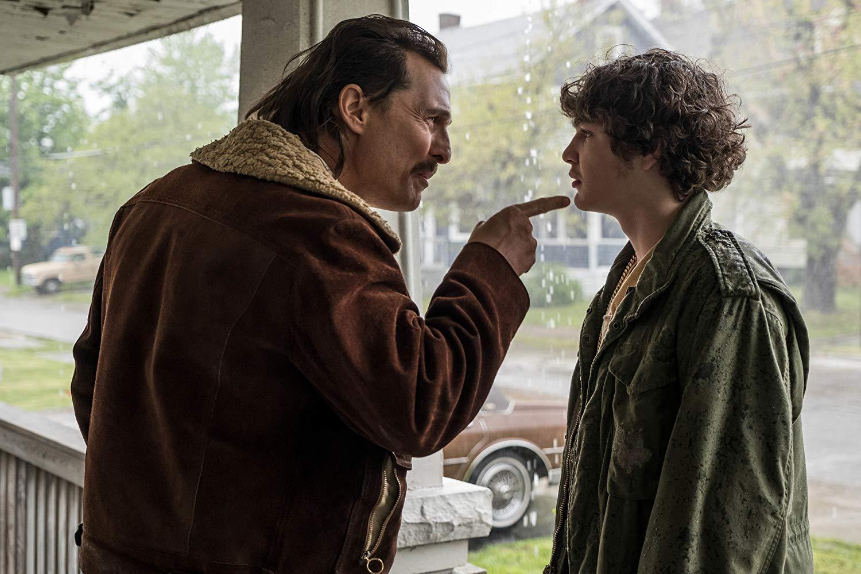 Cocaine - La Vera Storia Di White Boy Rick: Matthew McConaughey con Richie Merritt in una scena