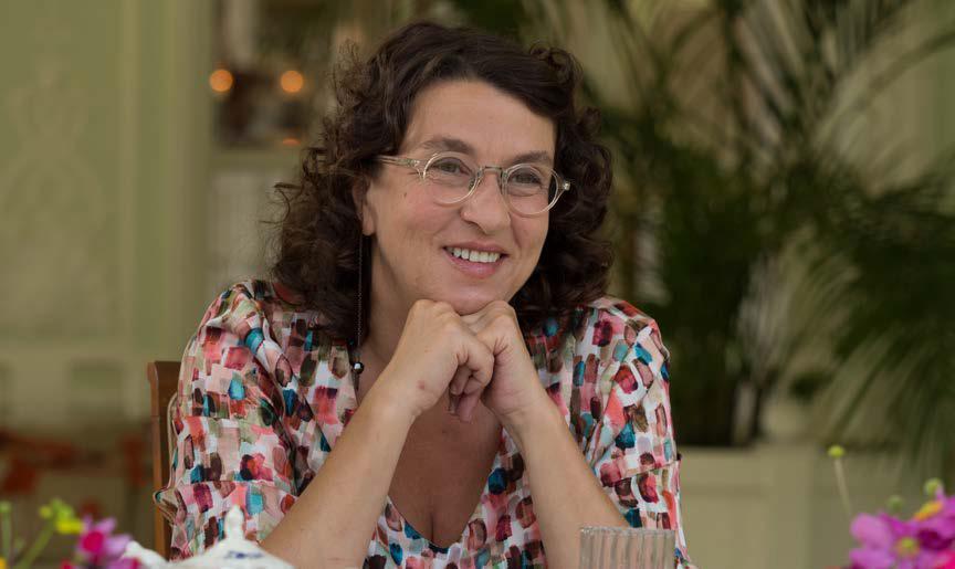 I Villeggianti: Noémie Lvovsky in una scena del film