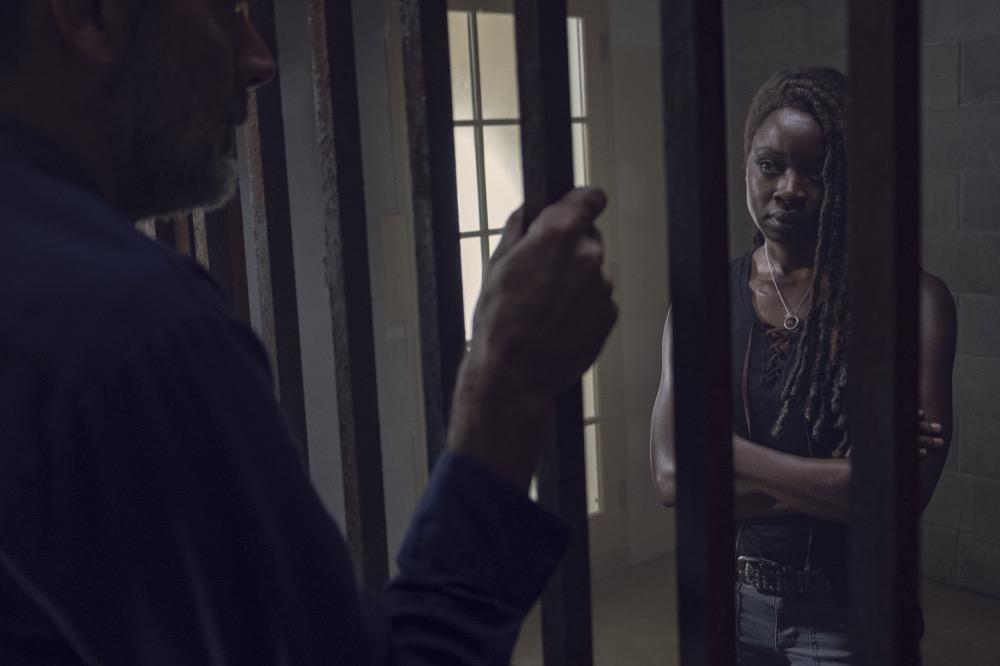 The Walking: Danai Gurira nell'episodio Il Guardiano