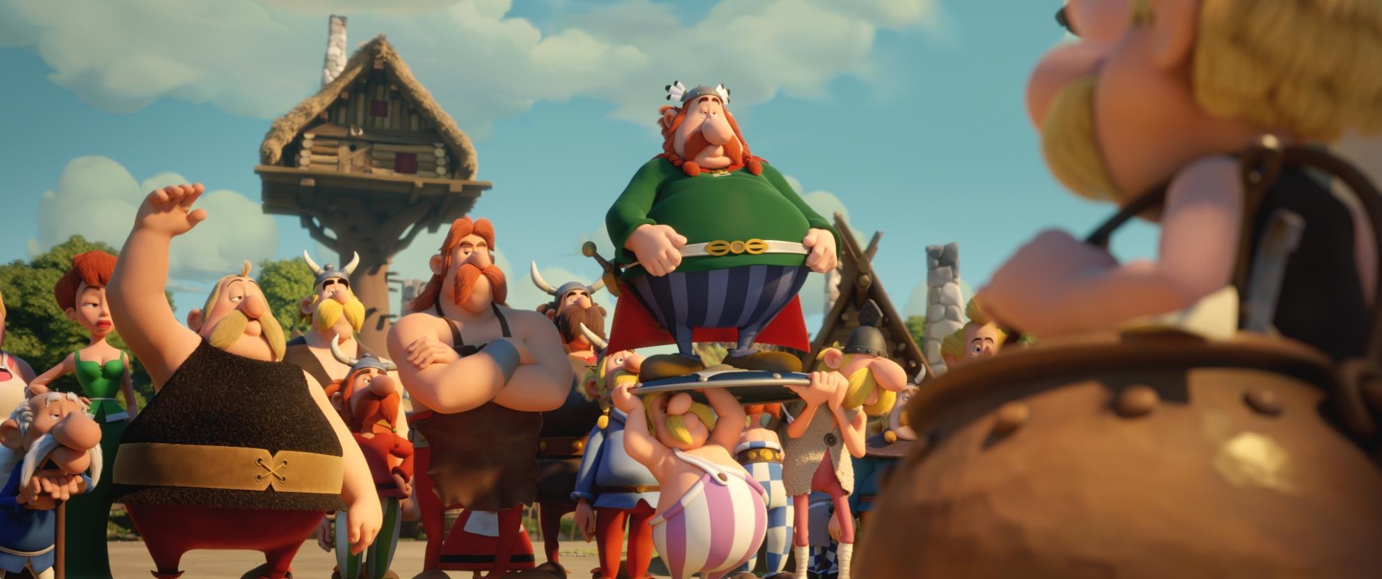 Asterix e il segreto della pozione magica: una scena del film
