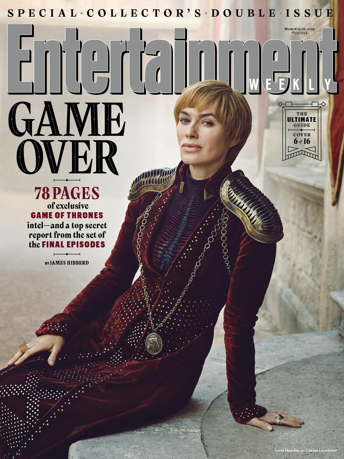 Il Trono di Spade 8: Lena Headey sulla copertina di EW