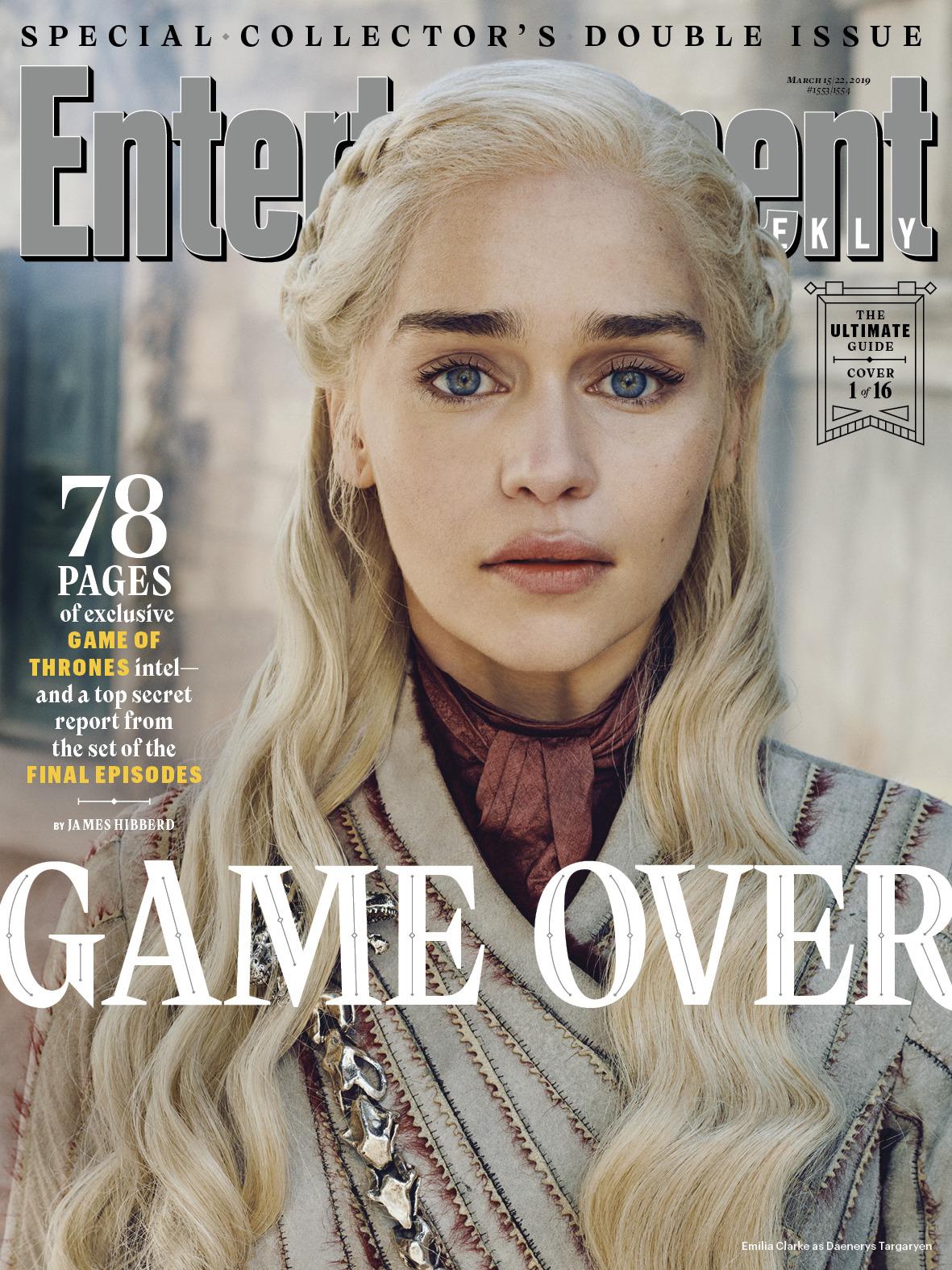 Il Trono di Spade 8: Daenerys sulla copertina di EW