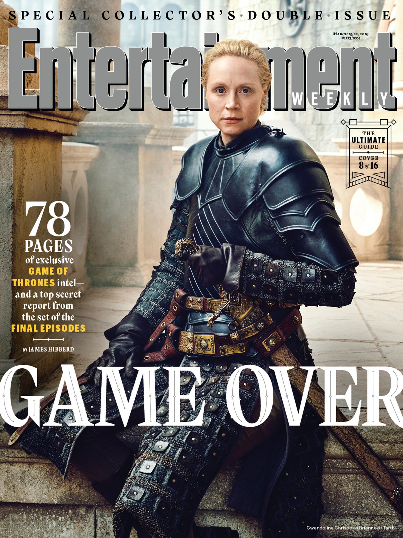 Il Trono di Spade 8: Gwendoline Christie sulla copertina di EW