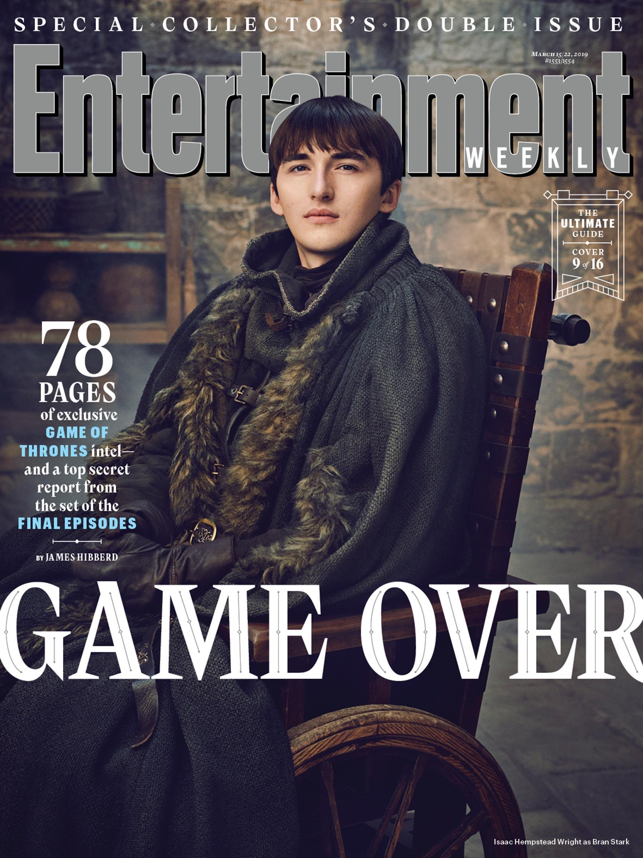 Il Trono di Spade 8: Bran sulla copertina di EW
