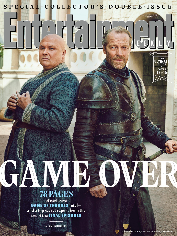 Il Trono di Spade 8: Varys e Jorah sulla copertina di EW