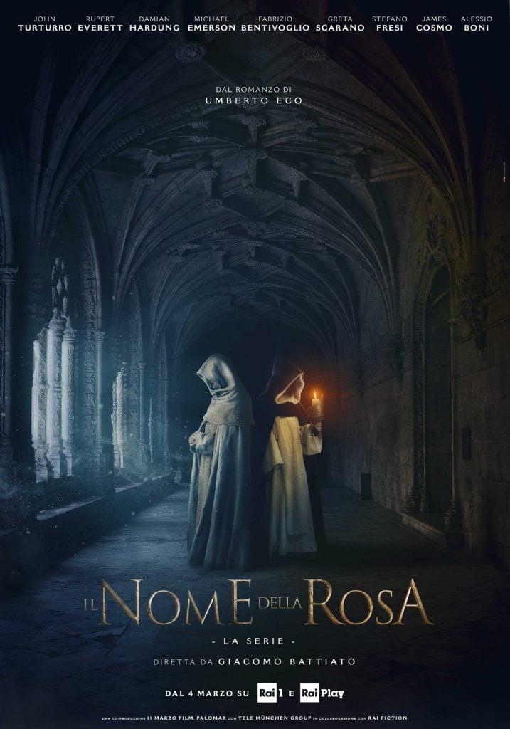 Risultati immagini per Il Nome della Rosa serie locandina