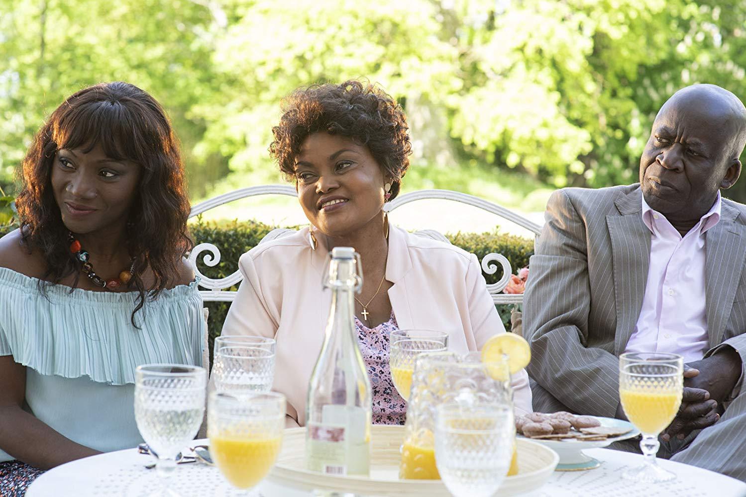 Non sposate le mie figlie! 2: Pascal N'Zonzi, Tatiana Rojo, Salimata Kamate in una scena del film