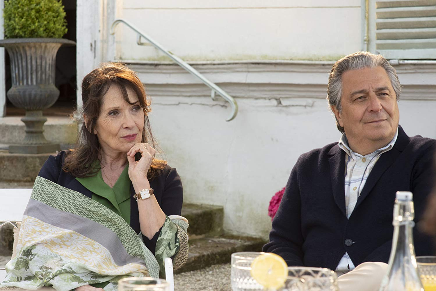 Non sposate le mie figlie! 2: Christian Clavier, Chantal Lauby in una scena del film
