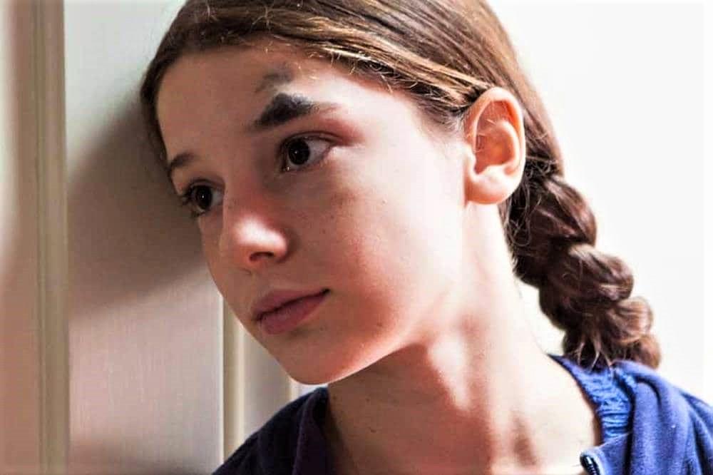 La fuga: Lisa Ruth Andreozzi in un scena del film