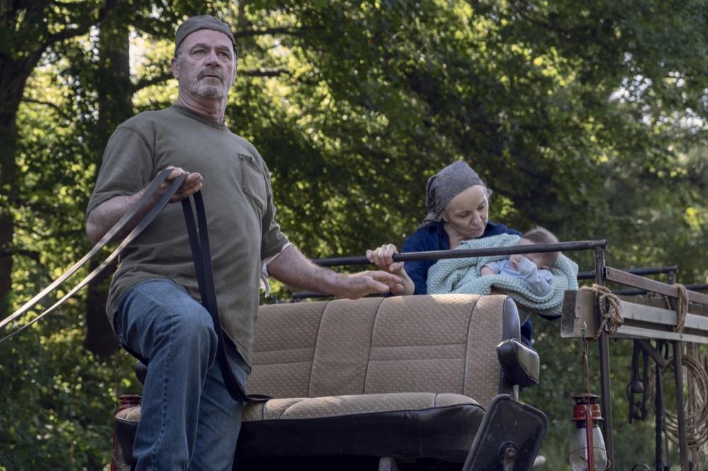 The Walking Dead: Brett Butler e John Finn nell'episodio Chokepoint