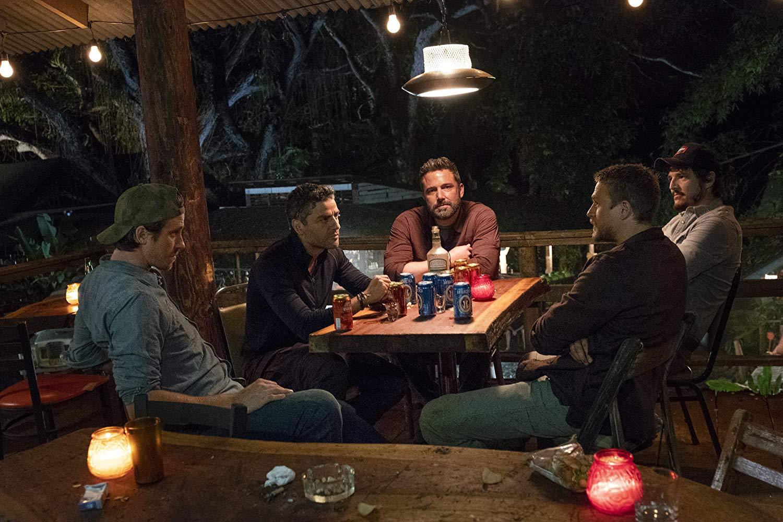 Triple Frontier: Ben Affleck, Pedro Pascal, Charlie Hunnam, Oscar Isaac e Garrett Hedlund