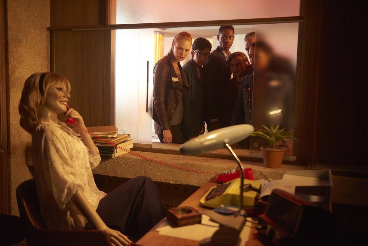 Escape Room: i protagonisti in una scena del film