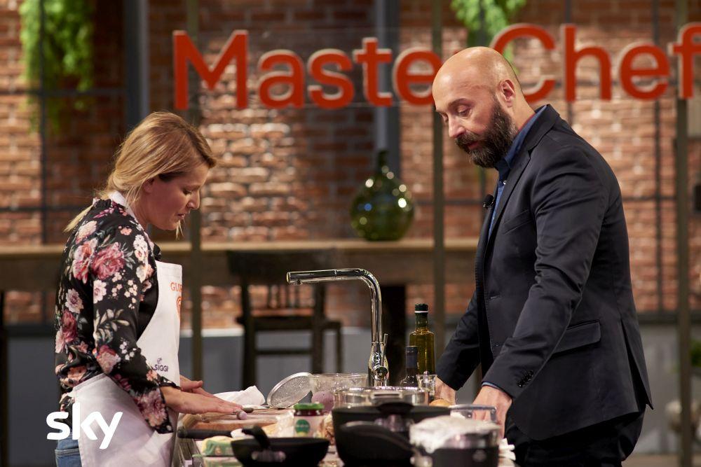 Masterchef Italia 8, Joe Bastianich durante una puntata