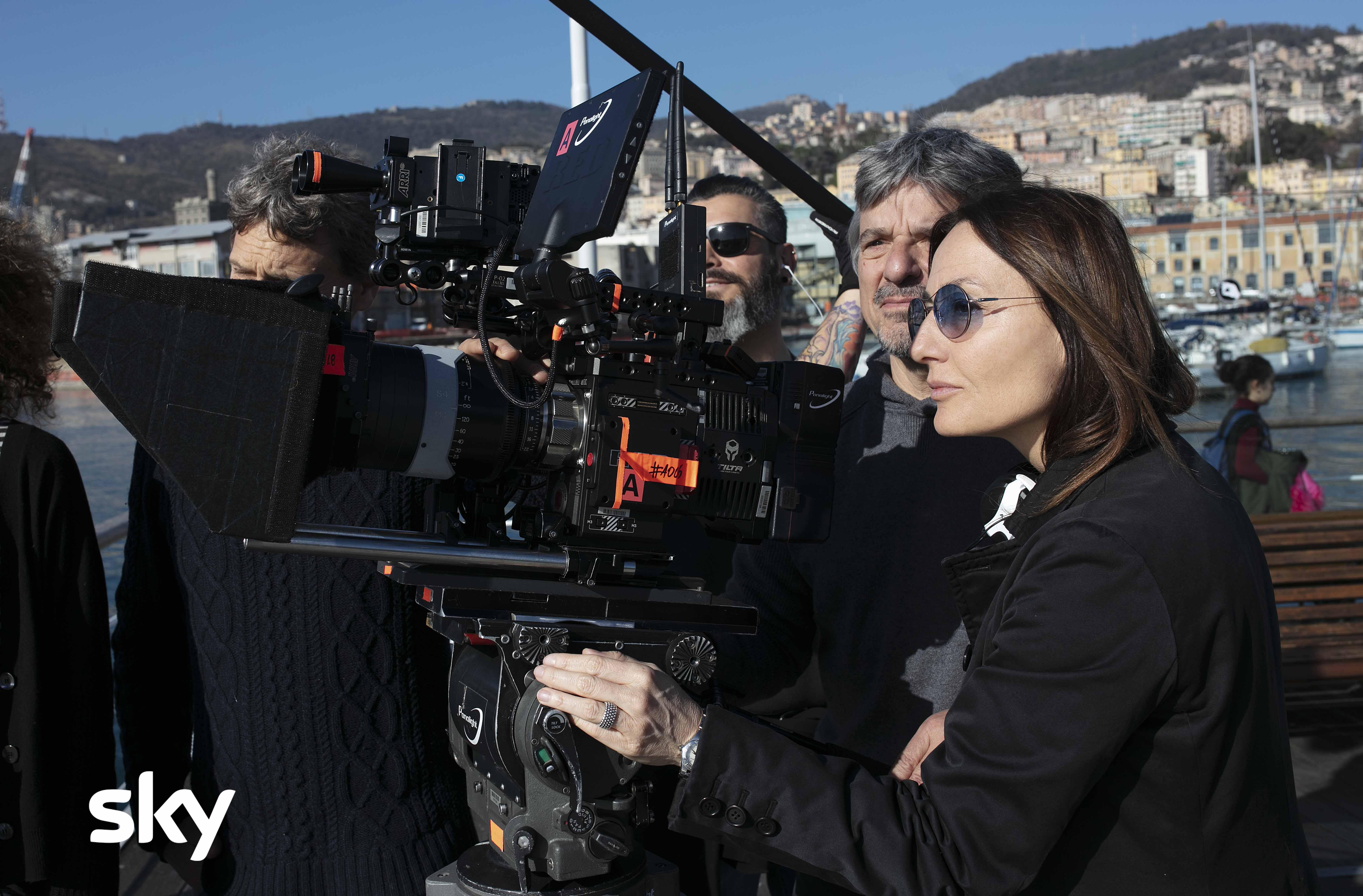 Petra: Maria Sole Tognazzi durante le riprese