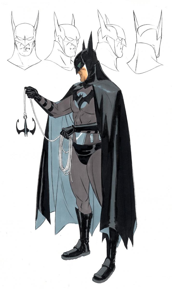Batman: Year One, i concept art del film di Darren Aronofsky