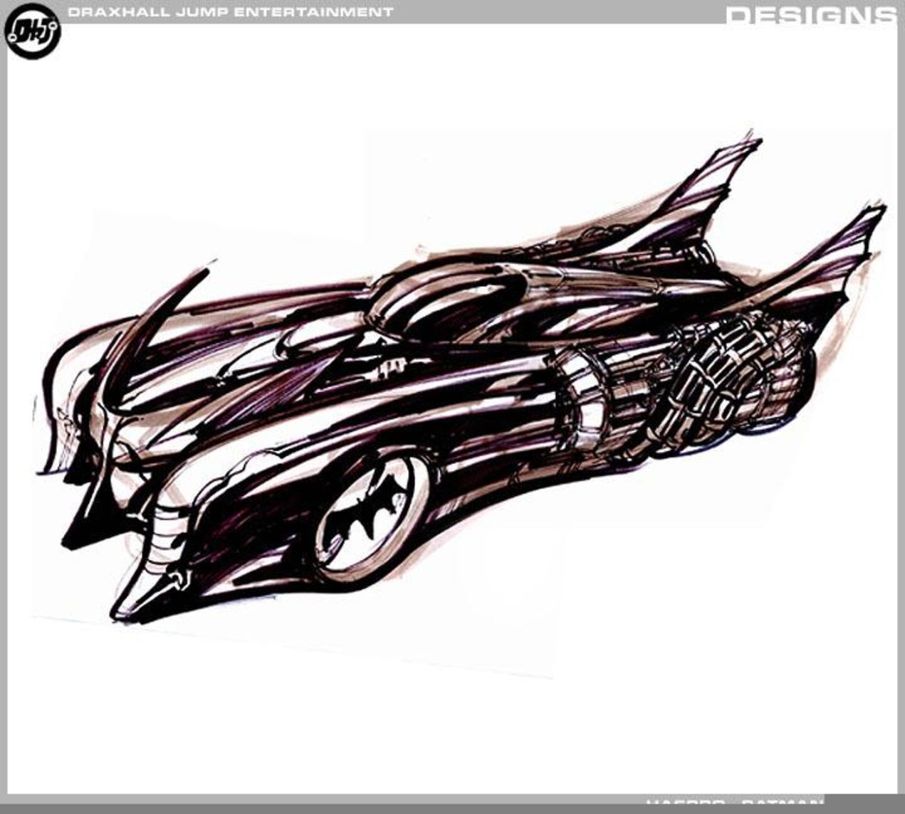 Batman: Year One, i concept art del film di Darren Aronofsky