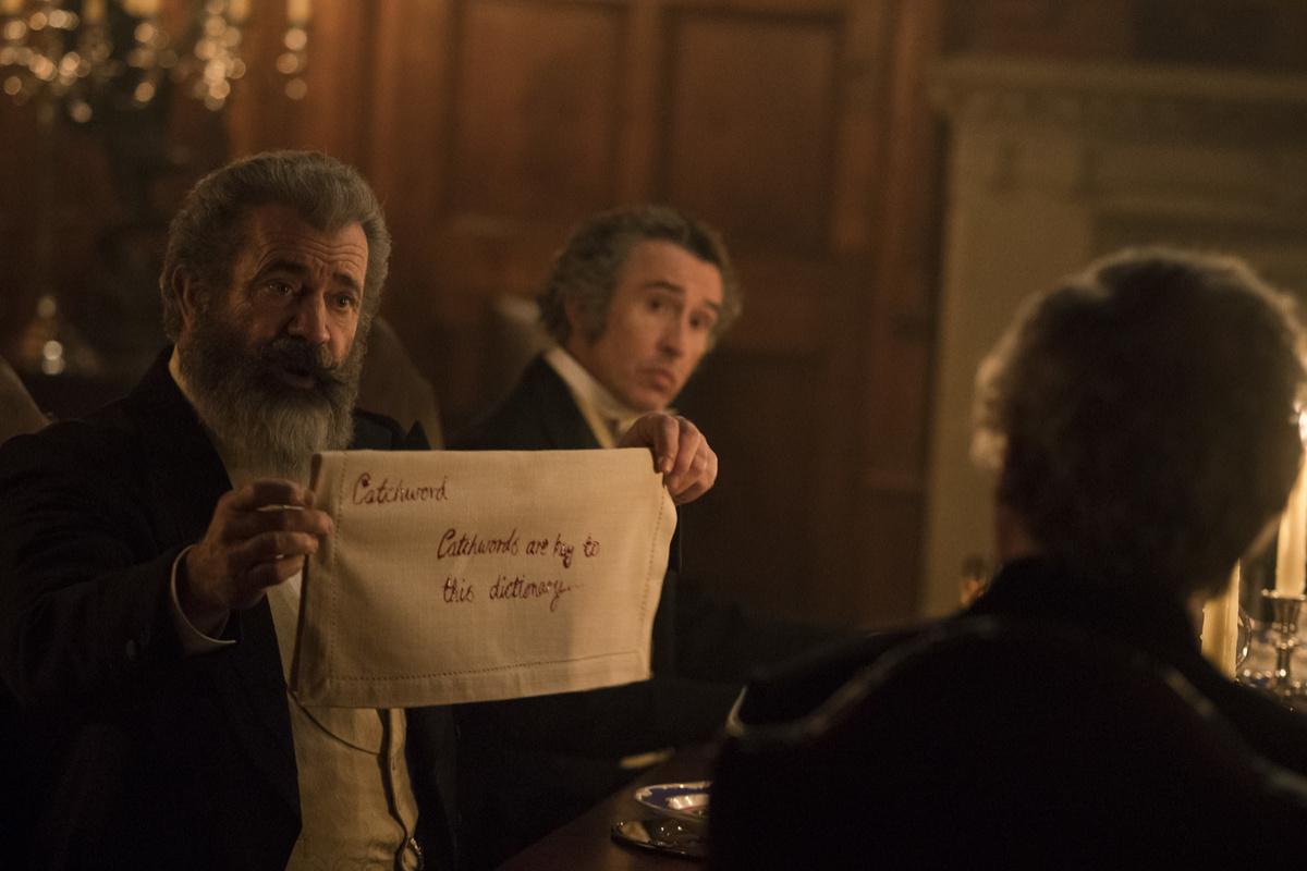 Il professore e il pazzo: una scena con Mel Gibson