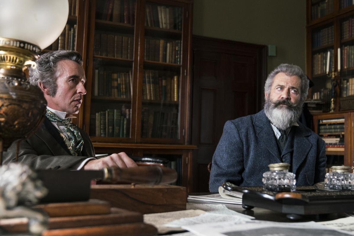 Il professore e il pazzo: Mel Gibson in una scena