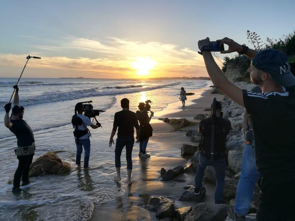 Sara e Marti Il Film: una scena girata al tramonto