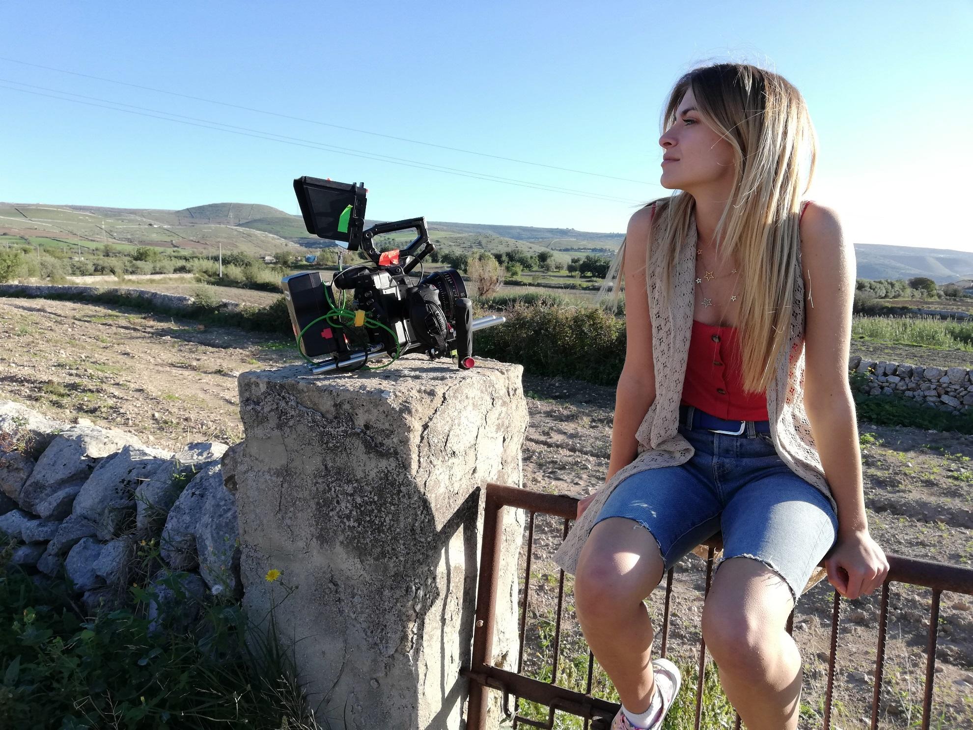 Sara e Marti Il Film: un momento durante la lavorazione
