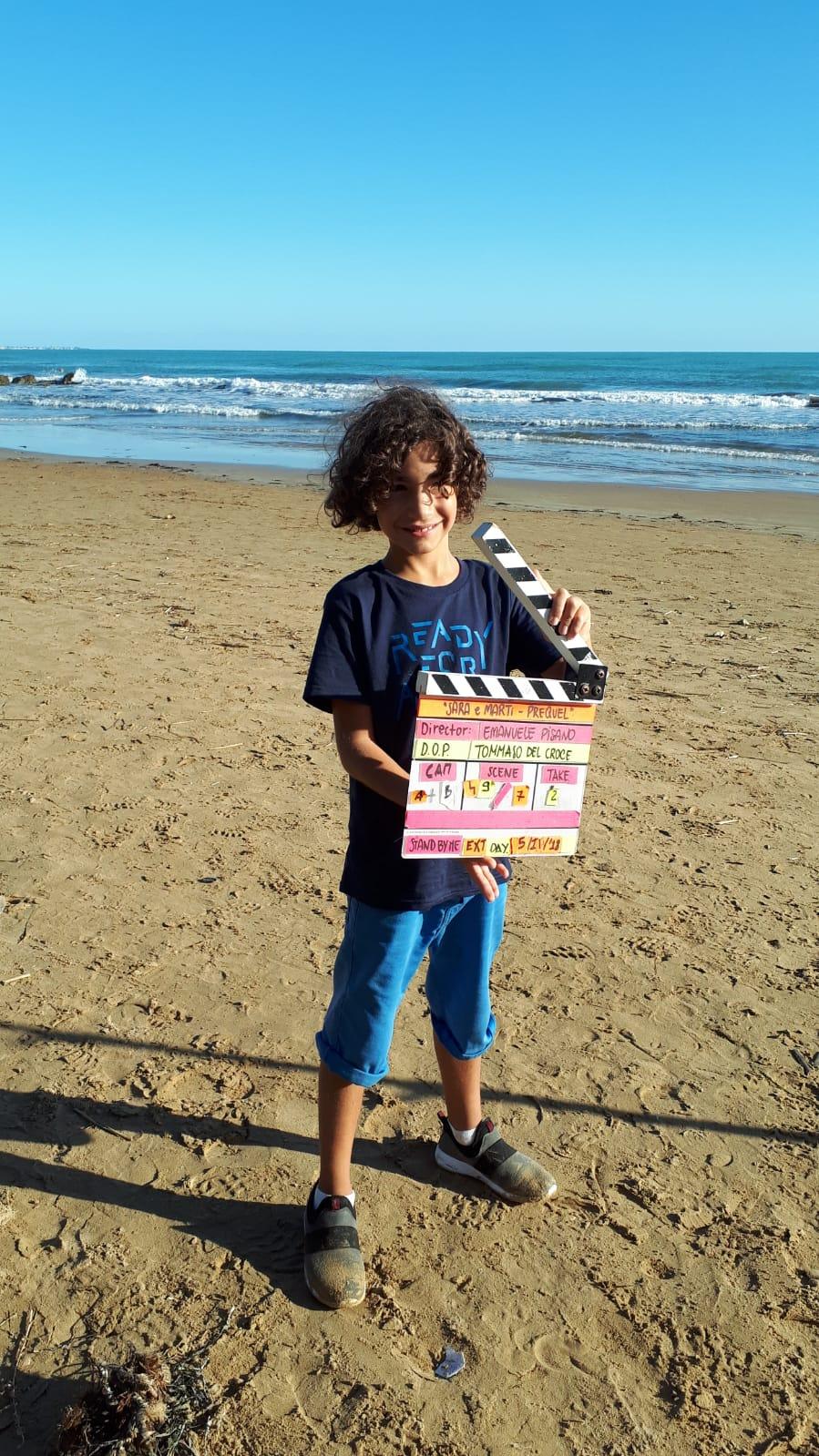 Sara e Marti Il Film: un'immagine dal set