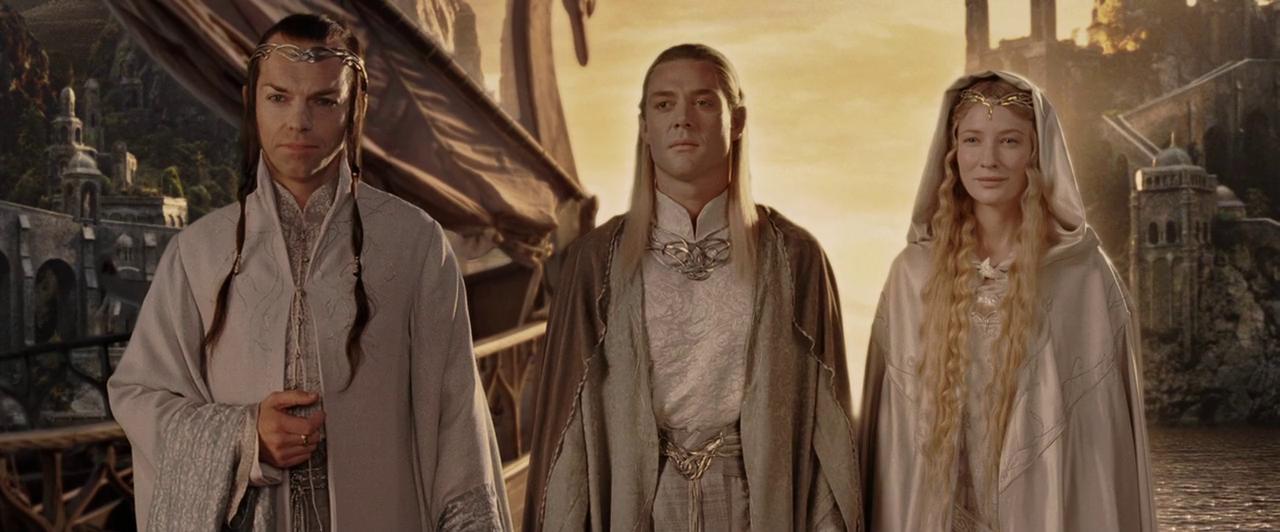 Il signore degli anelli, gli Elfi lasciano per sempre la Terra di mezzo