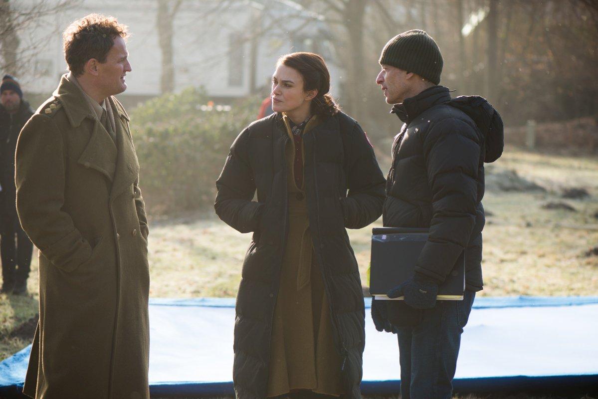 La conseguenza: Keira Knightley e Jason Clarke sul sest