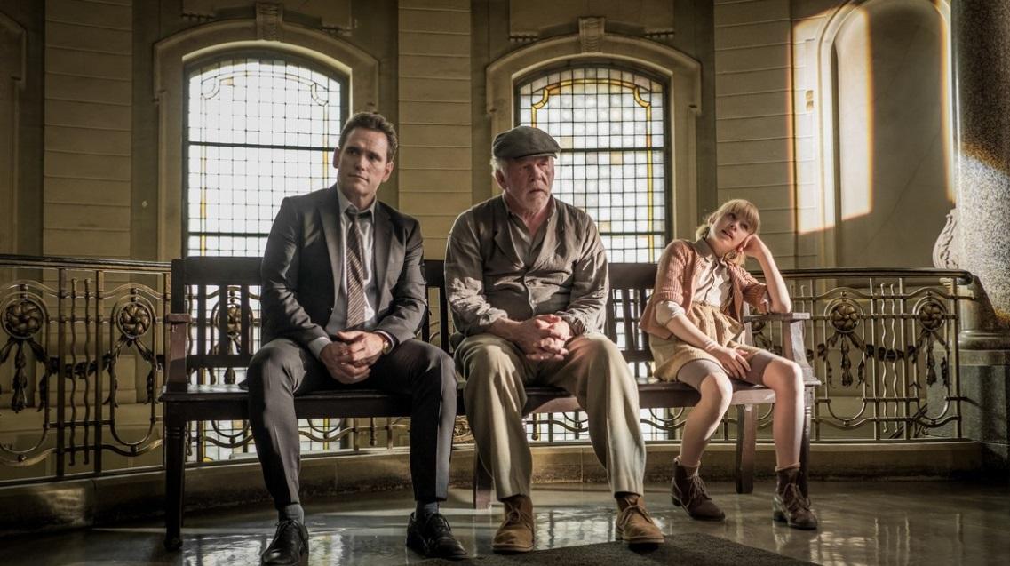 Un viaggio indimenticabile: Nick Nolte, Matt Dillon e Sophie Lane in una scena
