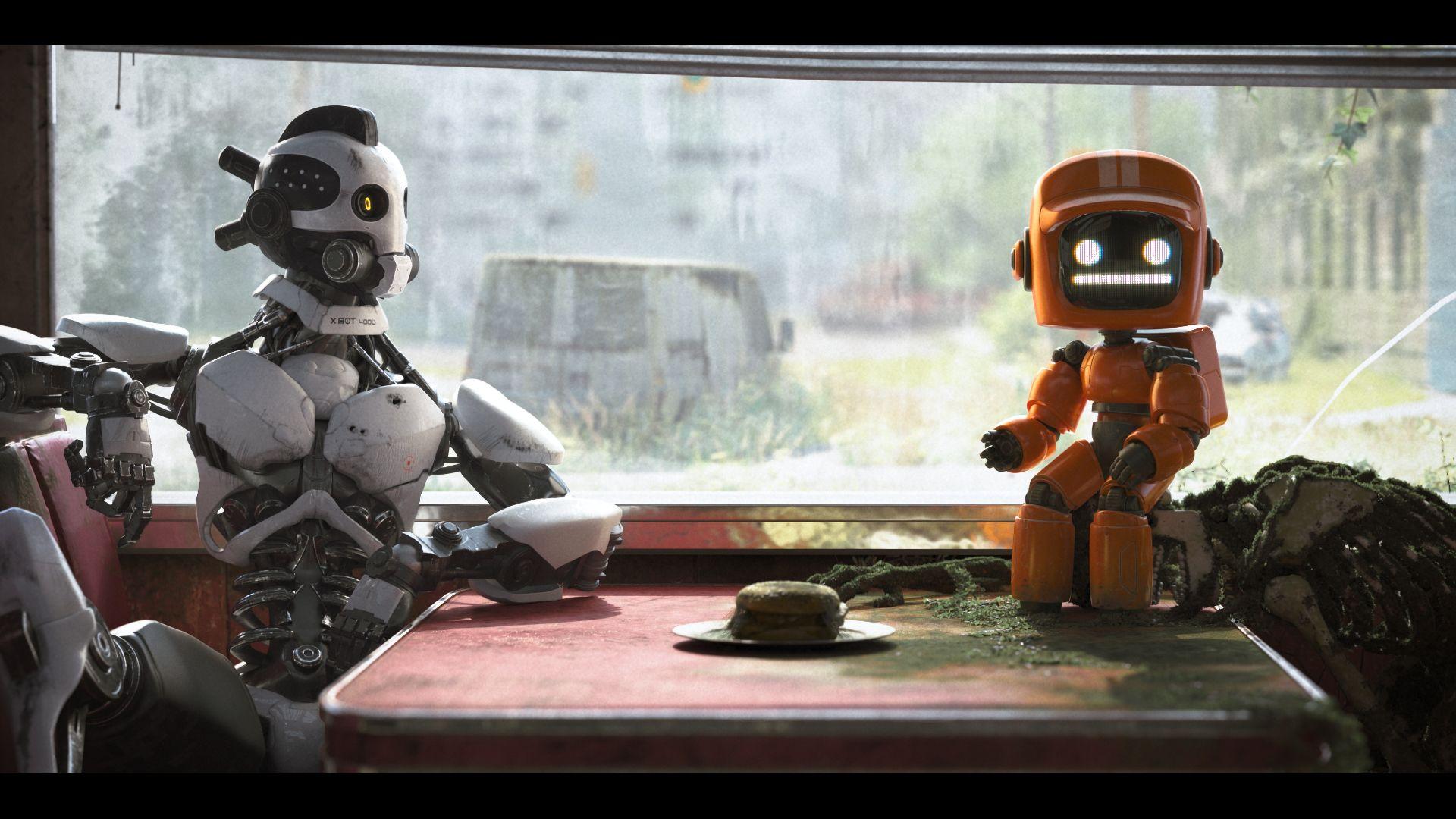Love, Death & Robots: una scena dell'episodio Tre Robot