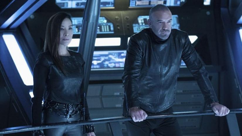 Star Trek: Discover, Michelle Yeoh in una scena dell'episodio Project Daedalus