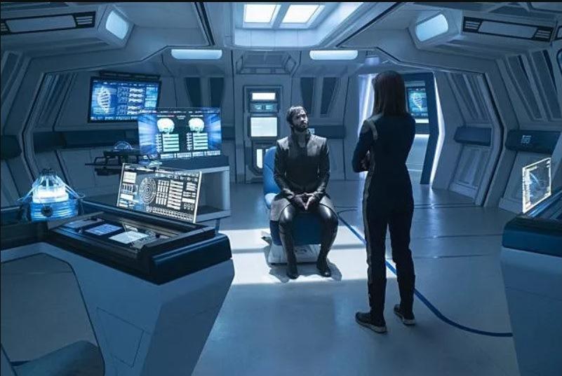 Star Trek: Discover, una sequenza dell'episodio Project Daedalus