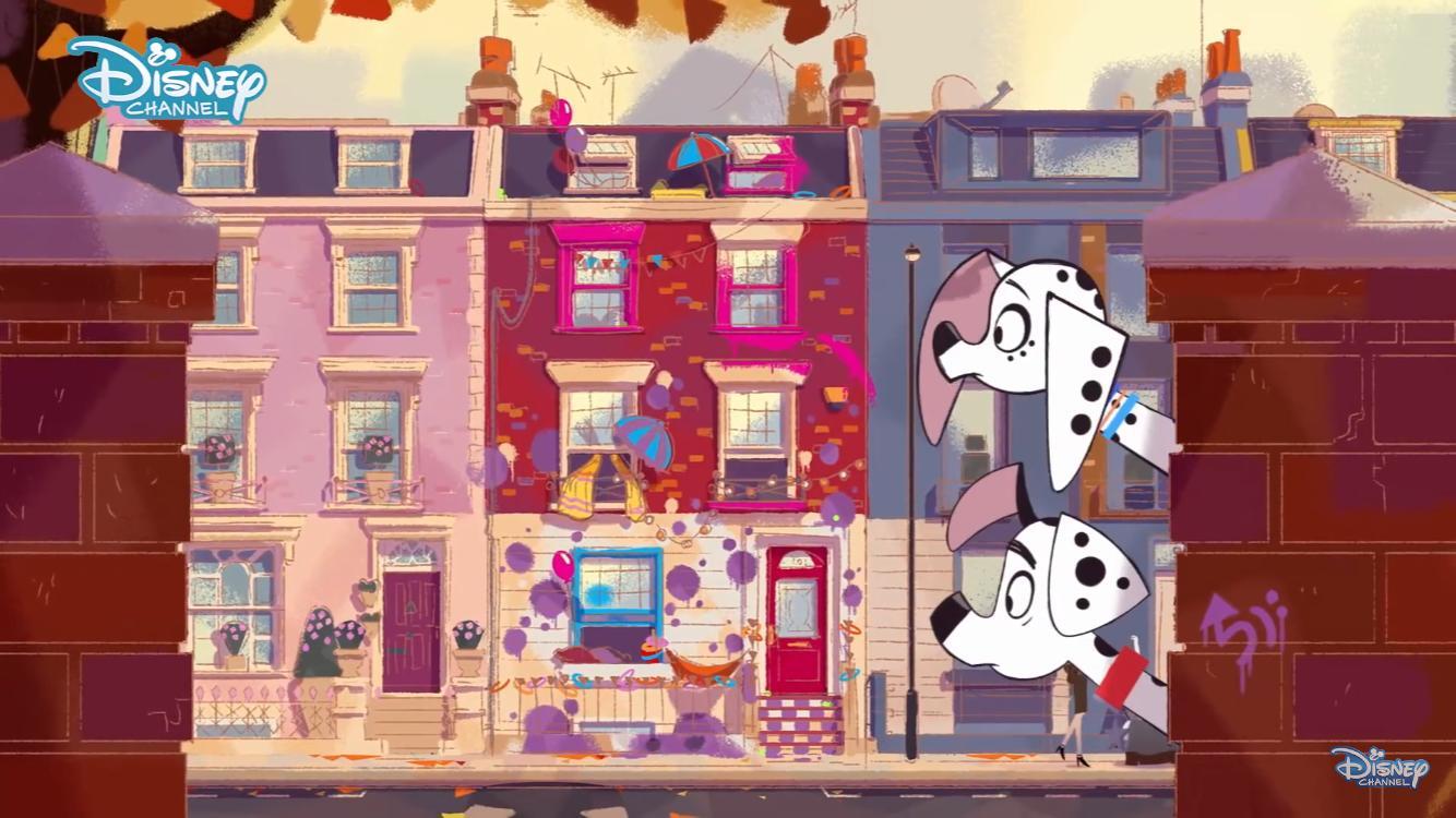 101 Dalmatian Street: una scena della serie