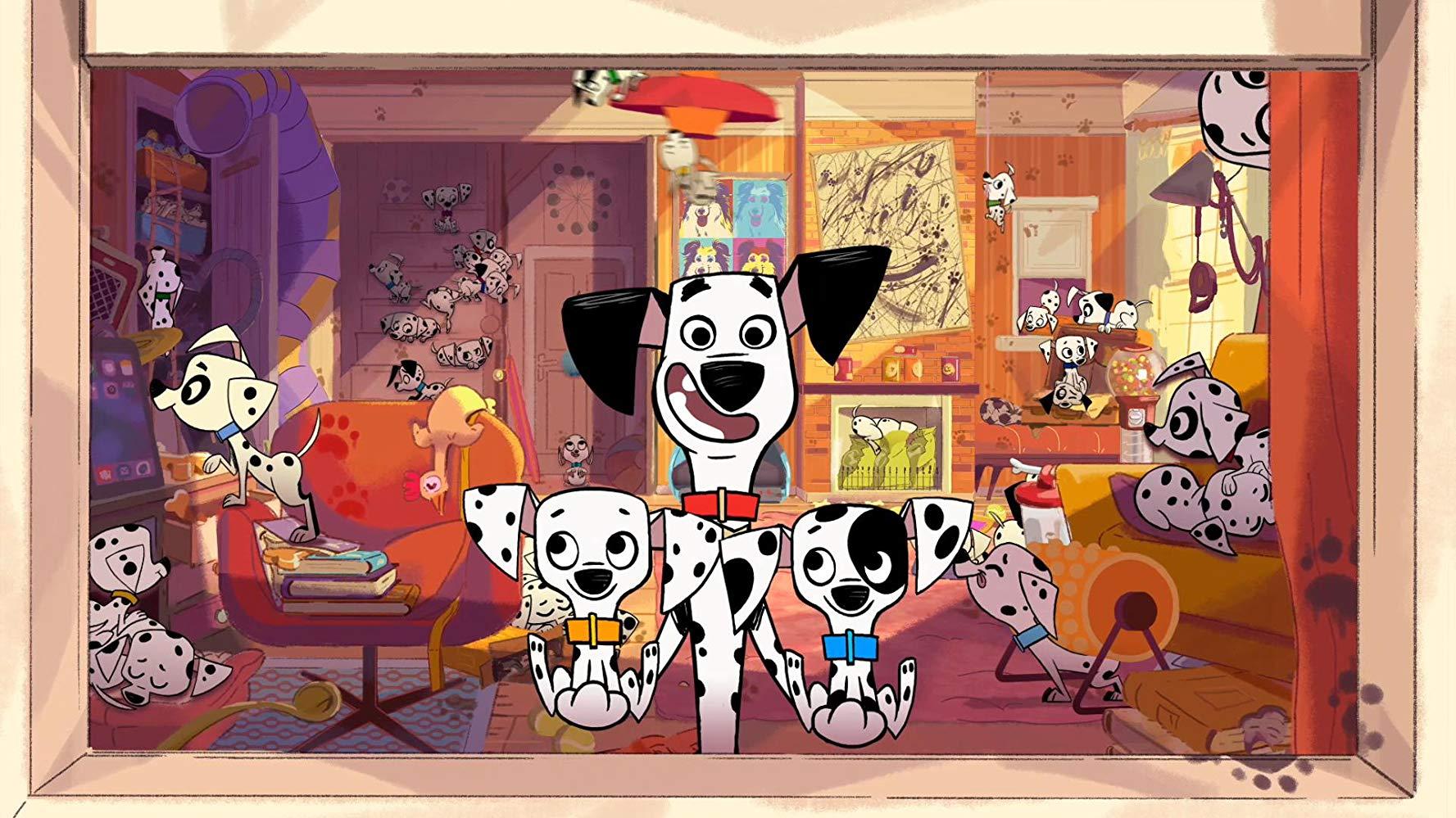 101 Dalmatian Street: una scena della prima stagione della serie