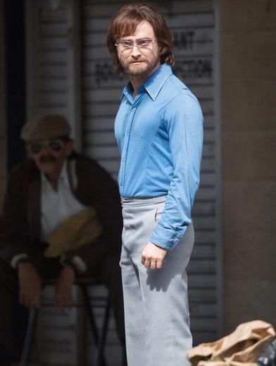 Escape from Pretoria: Daniel Radcliffe in una foto scattata sul set