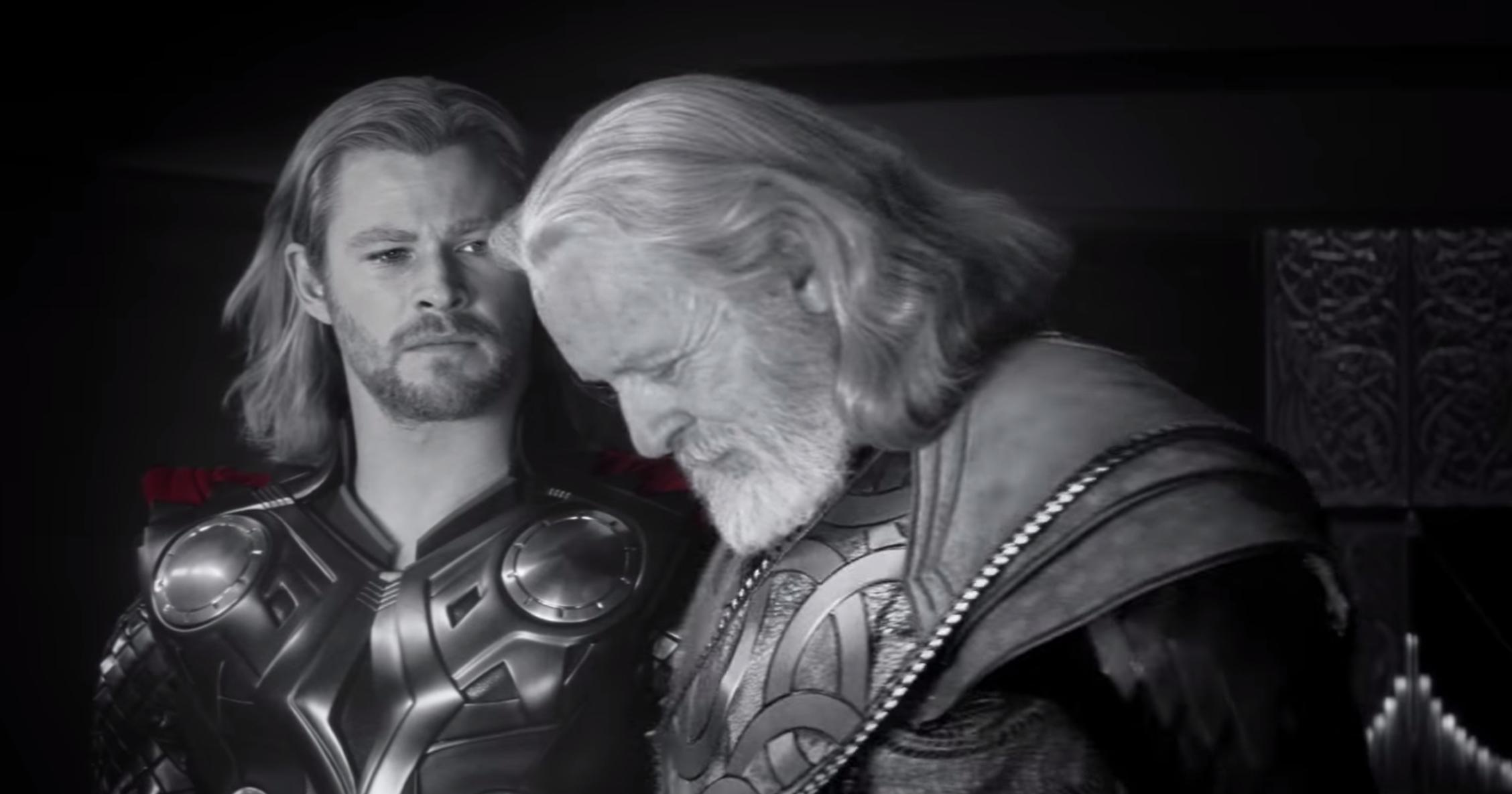 Avengers: Endgame - Thor e Odino