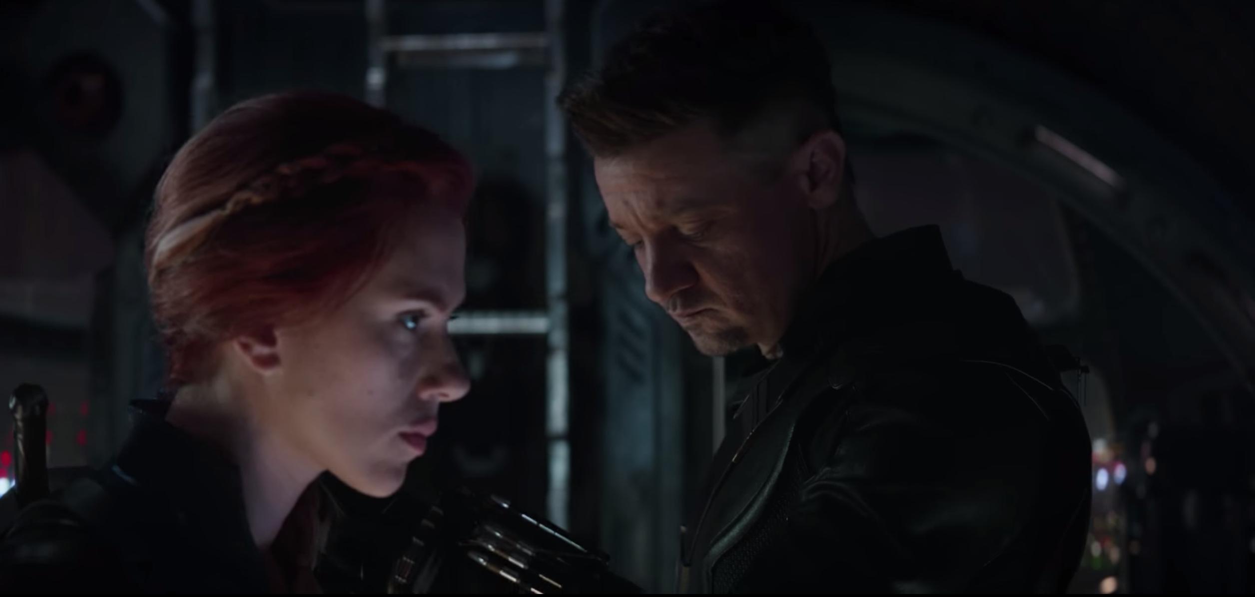 Avengers: Endgame - Natasha e Clint