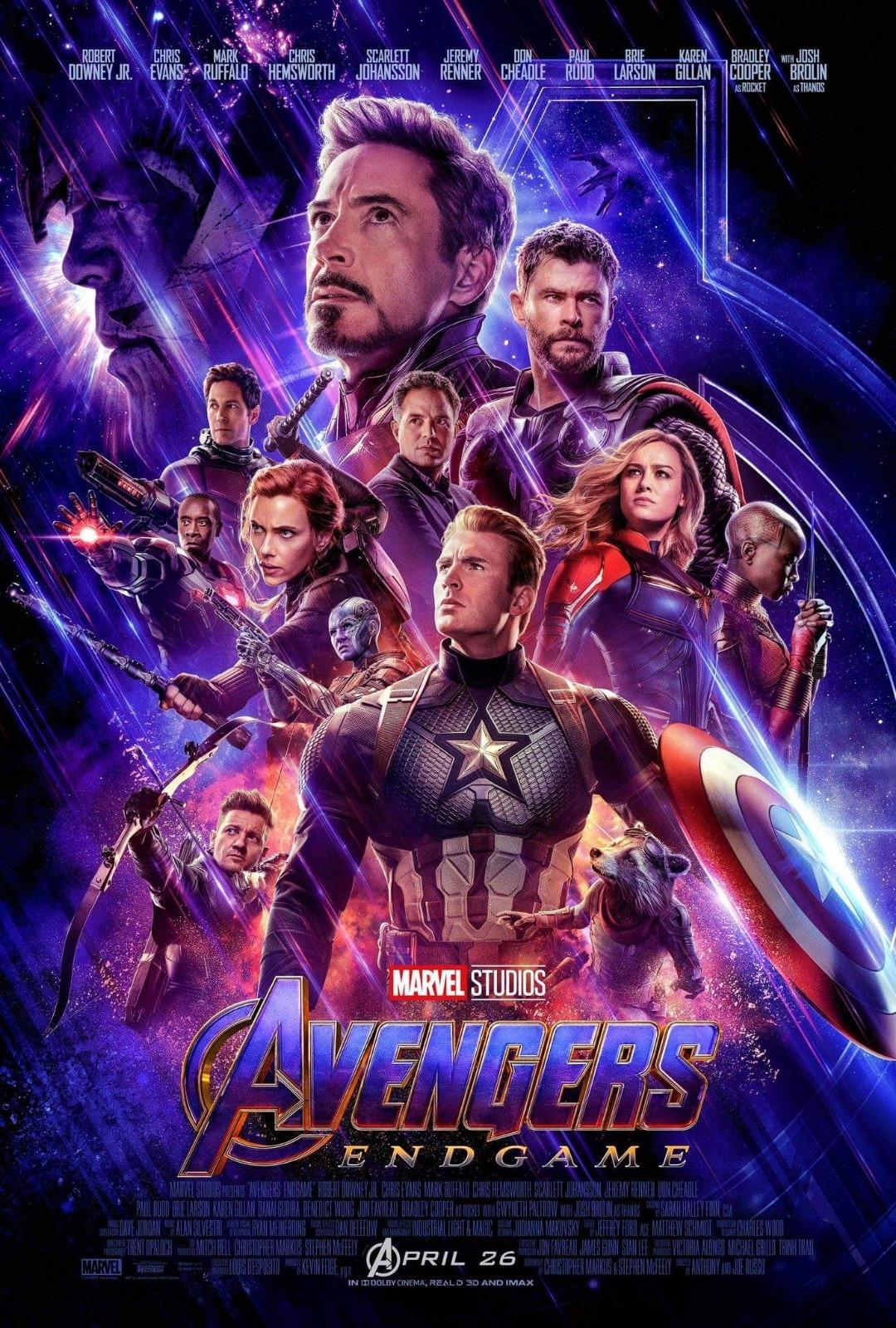 Avengers Endgame: il nuovo poster del film