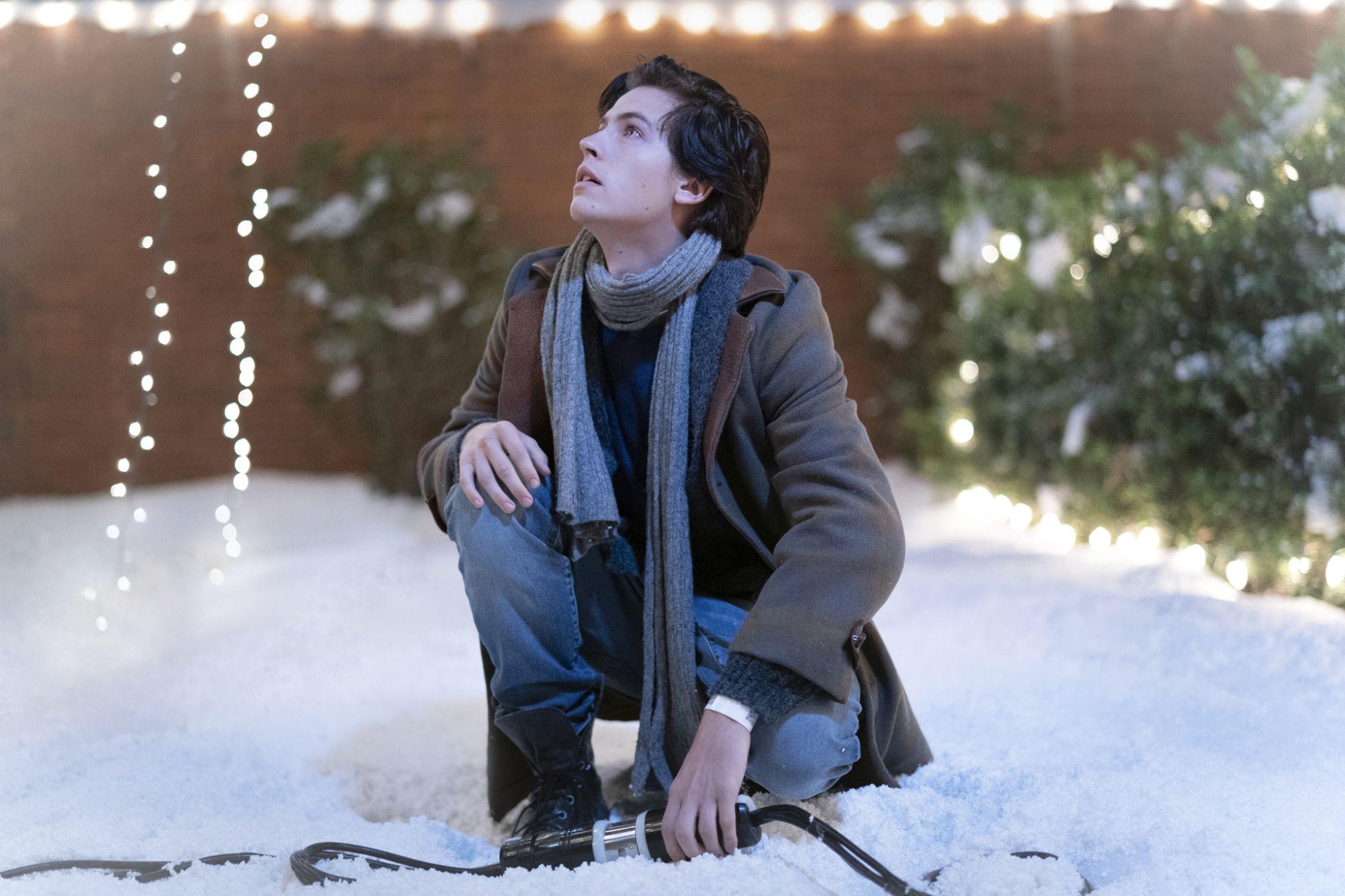 A un metro da te:  Cole Sprouse durante un momento del film