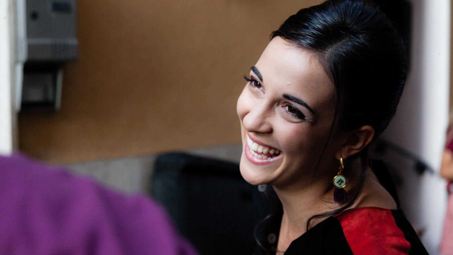 La mia seconda volta: Mariachiara Di Mitri sul set del film