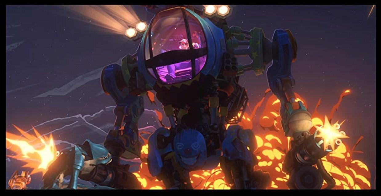 Love, Death & Robots: una scena dell'episodio Tute Meccanizzate