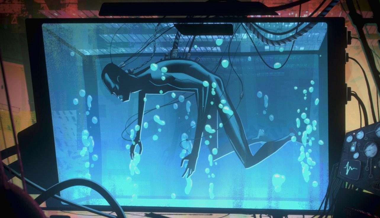 Love, Death & Robots: una scena dell'episodio Zima Blue