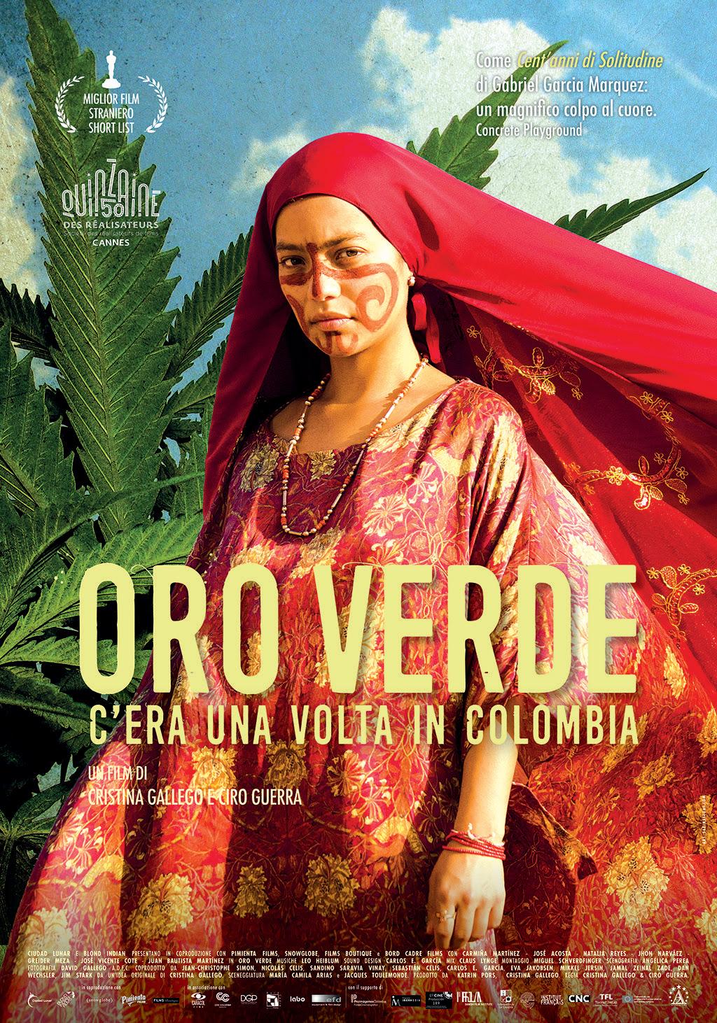 Locandina di Oro verde -  C'era una volta in Colombia