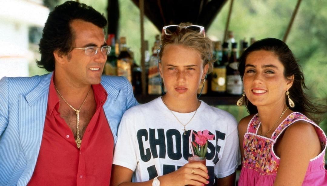 Albano e Romina con la loro figlia, Ylenia Carrisi