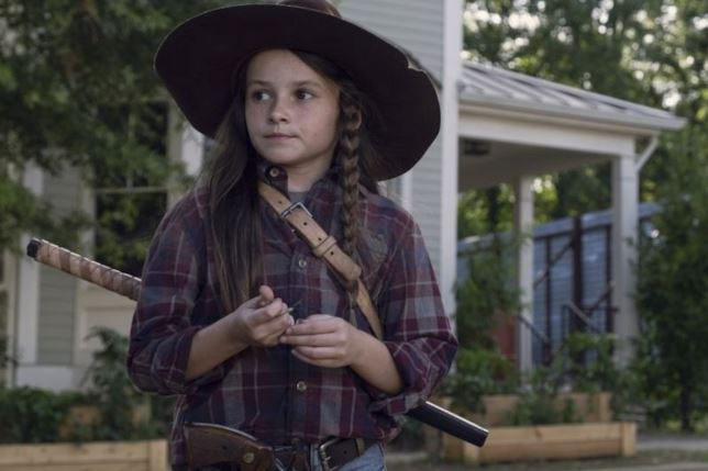 The Walking Dead: Cailey Fleming  nell'episodio Scars