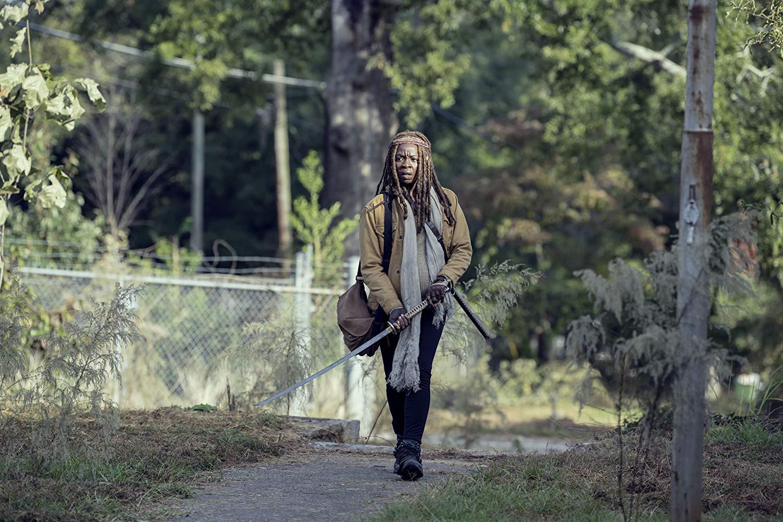The Walking Dead: Danai Gurira nell'episodio Scars